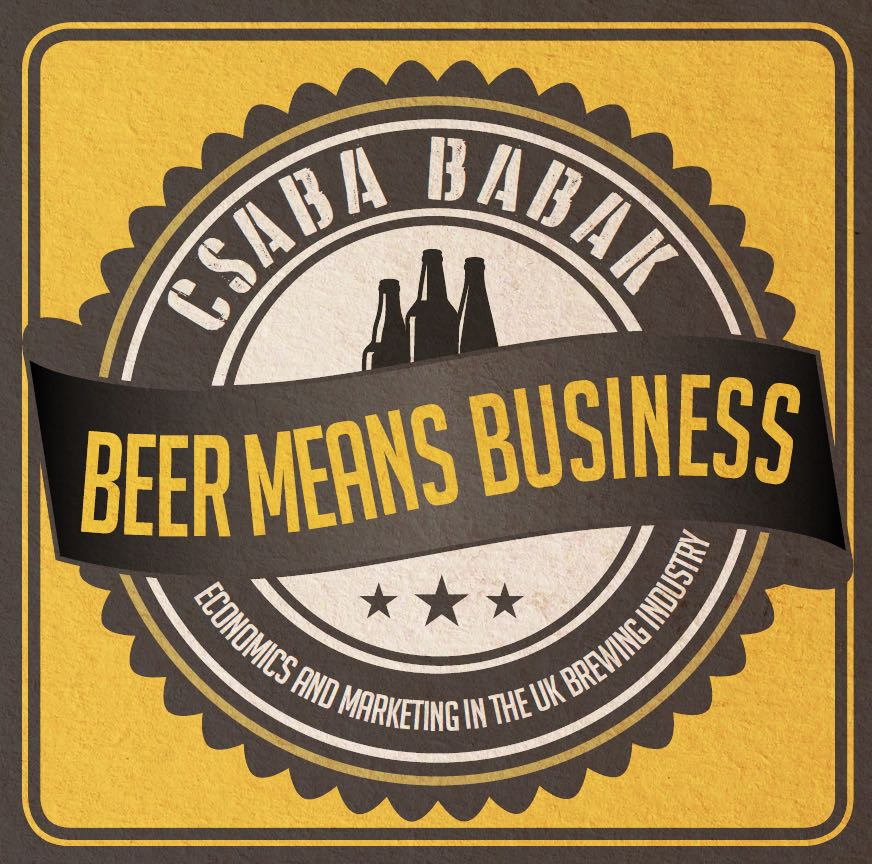 Beer Means Business - Released on 6th July - Logo - bw - small